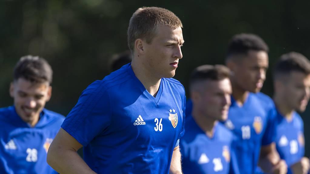 Emil Bergström wird sich künftig mit anderen Team-Kollegen als jenen des FC Basel aufwärmen.