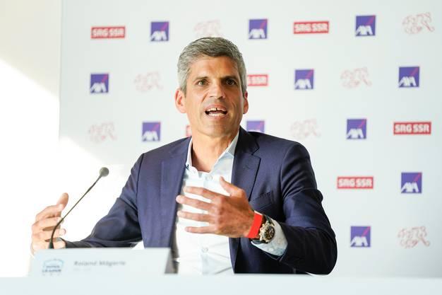 Plattform für Frauenfussball: SRF-Sportdirektor Roland Mägerle will den Schweizer Frauenfussball langfristig im Programm integrieren.