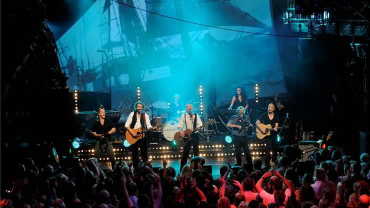 Die Band Santiano gehört zu den Highlights des Schupfarter Festivals 2014.