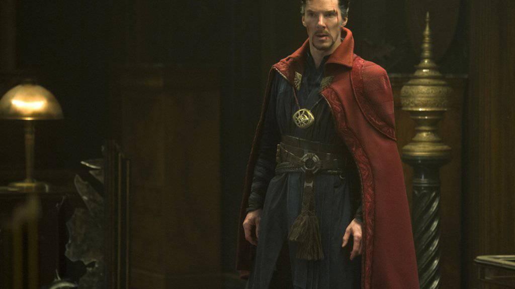 """Benedict Cumberbatch spielt die Hauptrolle im Actionfilm """"Dr. Strange"""" (Archiv)"""