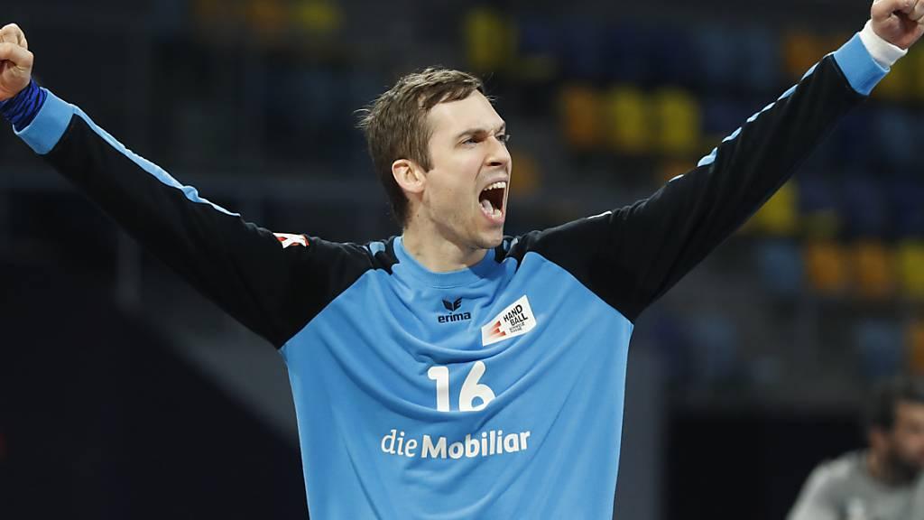 Nikola Portner will ab der kommenden Saison auch mit Magdeburg jubeln