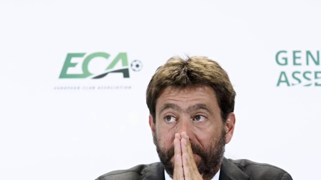 Agnelli: Bis zu 8,5 Milliarden Umsatzverlust für Europas Fussball