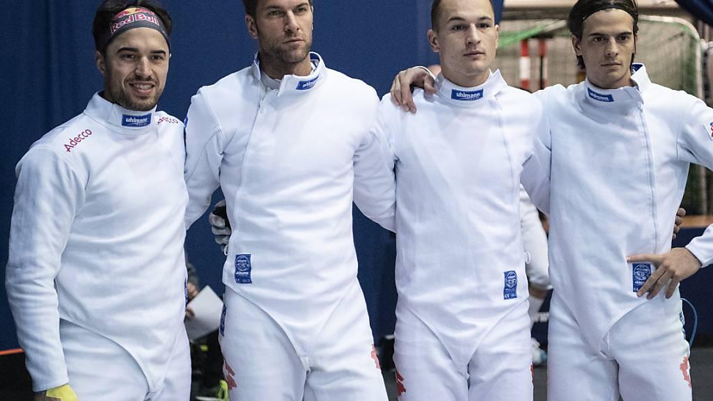 Die Schweizer Degenfechter könnten an den Olympischen Spielen in Tokio ihre Karriere krönen
