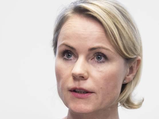 Natalie Rickli, Gesundheitsdirektorin des Kantons Zürich