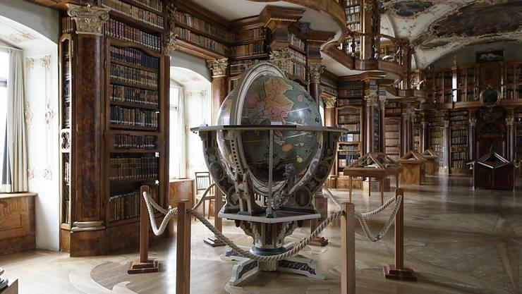 Die St. Galler Stiftsbibliothek ist Teil des Unesco-Weltkulturerbes und steht meist auf dem Programm der Besucherinnen und Besucher des Stiftsbezirks.