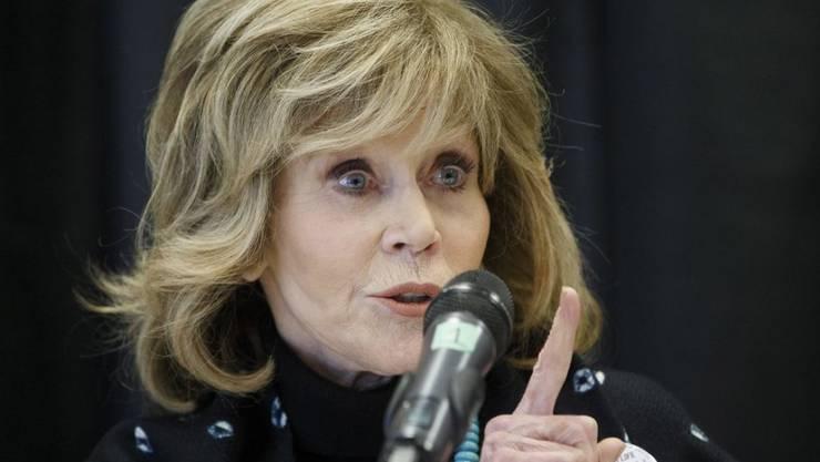 US-Schauspielerin Jane Fonda musste Missbrauch und Vergewaltigung über sich ergehen lassen, um zum Entschluss zu kommen, sich für einen Mann nie aufgeben zu wollen. (Archivbild)