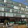 Das Gymnasium Muttenz befindet sich noch in gutem Zustand.