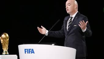 FIFA-Präsident Gianni Infantino erklärt sich