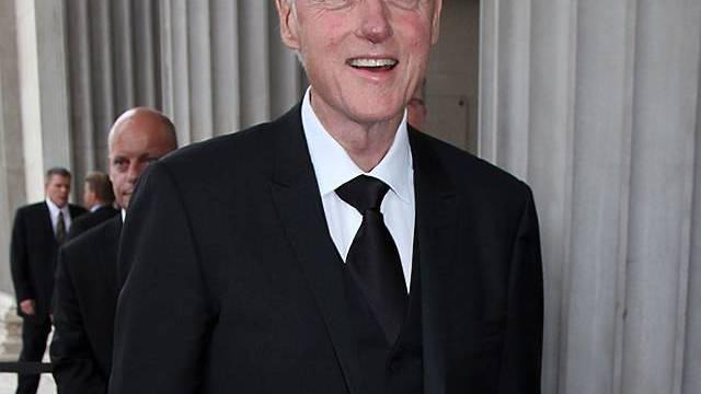 Bill Clinton bei der Welt-Aids-Konferenz in Wien