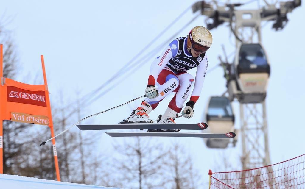 Michelle Gisin wird Zweite in Val d'Isère