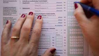 Die Steuern für natürliche Personen sollen im Aargau nicht steigen. (Symbolbild)