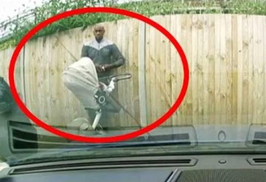 Mit diesen Bildern fahndet die britische Polizei nach dem dreisten Autokratzer.