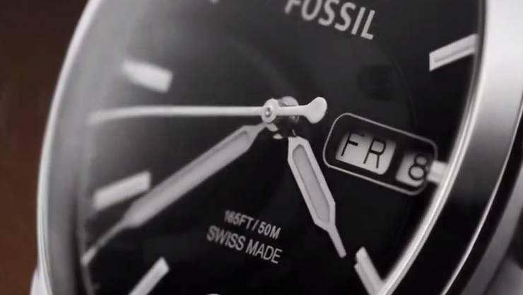 Die Fossil-Gruppe ist von dem allgemein schwierigen Marktumfeld im Geschäft mit Swiss-made-Uhren betroffen.