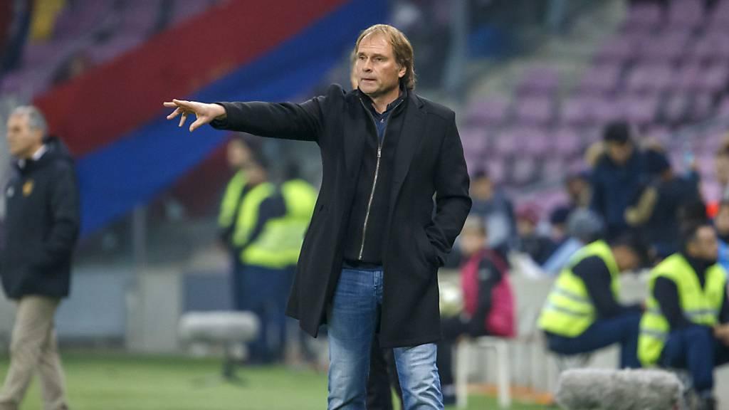 Alain Geiger coachte Servette zum Kantersieg gegen den FC Zürich