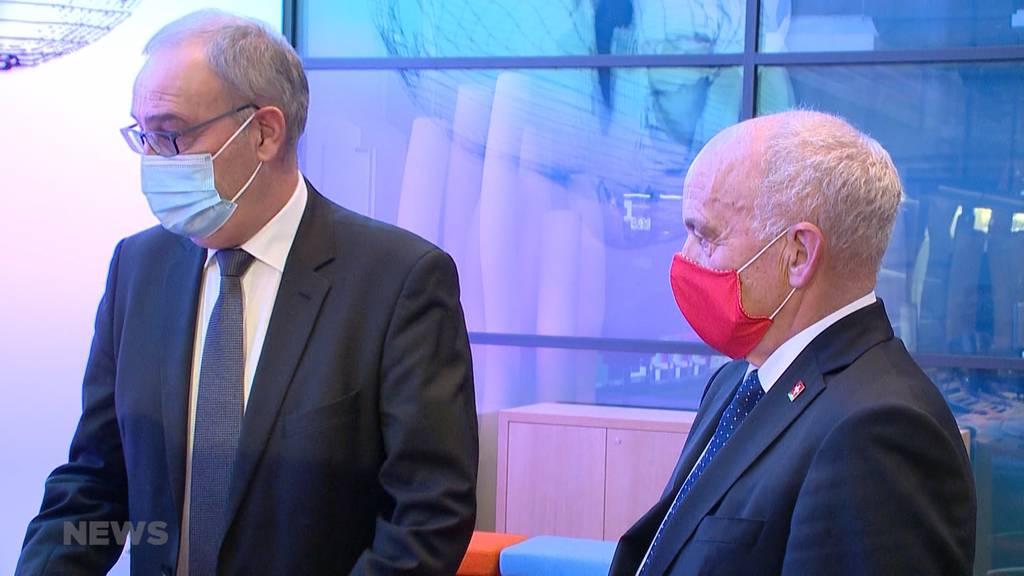 Medienkonferenz Bundesrat: Polizei kann Maskensünder jetzt büssen