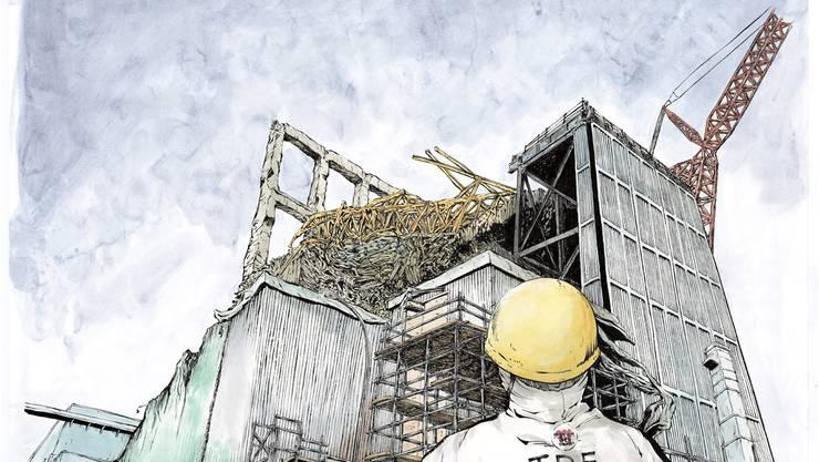 «Ichi-efu» erzählt minuziös vom Arbeitsleben des Mangazeichners Kazuto Tatsuta in der Atomruine Fukushima Daiichi. KEY