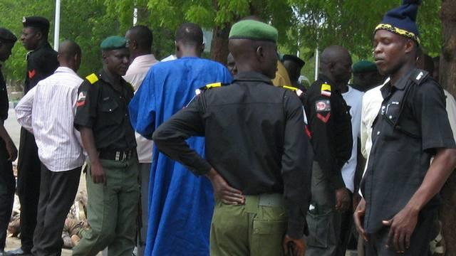 Krisengebiet: Polizisten in Maiduguri (Archiv)