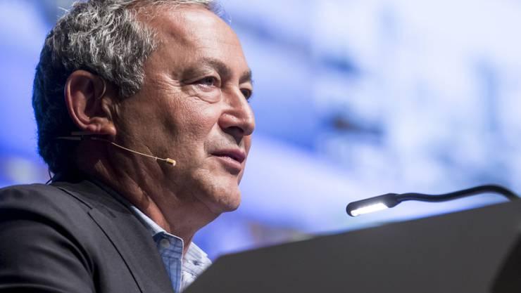 Samih Sawiris, der ägyptische Investor und Verwaltungsratspräsident von Orascom. (Archiv)