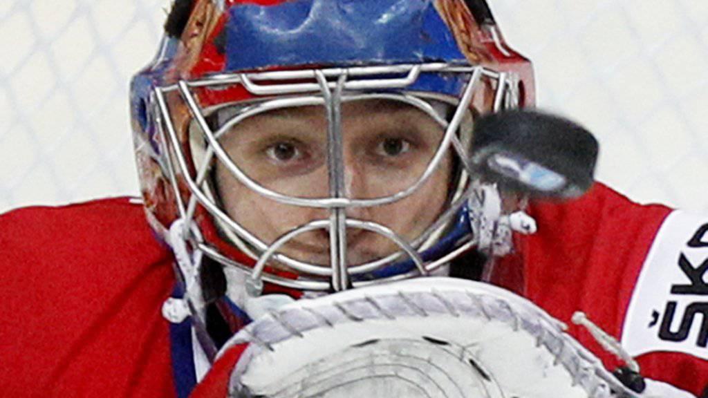 Der Tscheche Jakub Stepanek (29) war an der WM 2012 in Russland mit einer Fangquote von 93,88 Prozent statistisch der zweitbeste Torhüter des Turniers