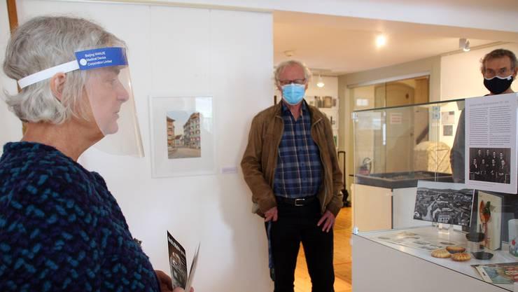 Die Ausstellung zeigt Gassen und erzählt Geschichten.