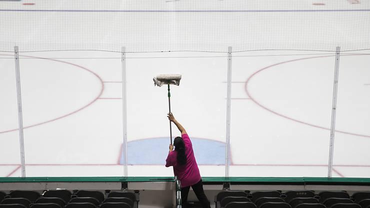 Vom Coronavirus sind in der NHL nicht nur die Spiele betroffen