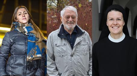 Drei der sieben Kandidaten für den Limmattaler des Jahres.