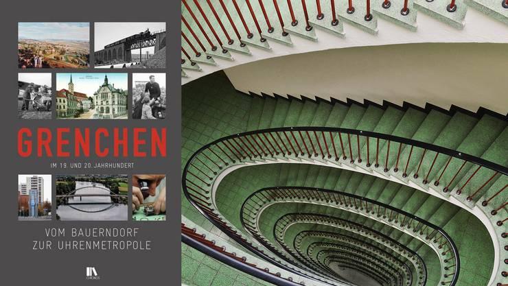 Das Buch ist ab sofort bei der Stadt oder im Buchhandel für Fr. 58 .– erhältlich.
