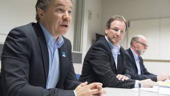 """Soll """"Innenminister"""" auf dem Ballenberg werden: Der neue Betriebsdirektor Peter Kohler. Neben ihm der Stiftungspräsident und """"Aussenminister"""" Peter Flück."""