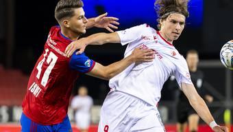 Basel verliert gegen Sion und verabschiedet sich aus dem Titelkampf