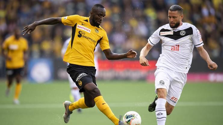 Bereits zum zweiten Mal innerhalb von zwei Jahren konnte sich der FC Lugano für die Gruppenphase qualifizieren. «Darauf sind wir stolz», sagt Verteidiger Fabio Daprelà (r.).