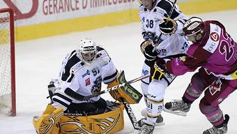Lugano-Goalie Benjamin Conz unter Beschuss