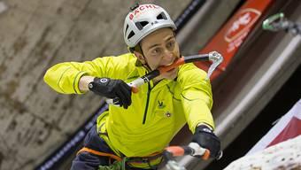 Kevin Huser: «Klettern bedeutet für mich Freiheit.»