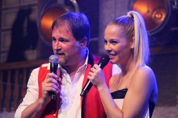 Stefan Roos und Linda Fäh