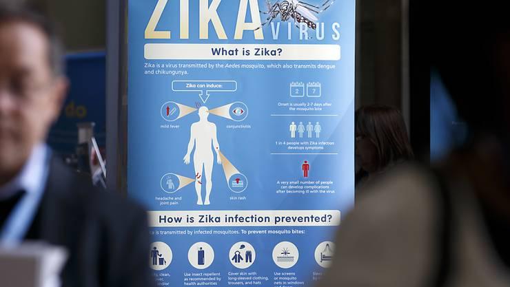 Die ersten Fälle von Zika-Infektionen traten Ende 2015 in Brasilien auf. Seither hat sich das Virus in vielen Ländern Südamerikas verbreitet. (Archivbild)