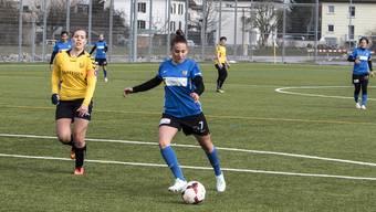 Romana Trajkovska (rechts) verlor die Nerven und wurde mit rot vom Platz gestellt.
