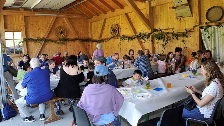 Familie Antener-Laubscher will den Gastrobetrieb auf dem Aareinseli ausbauen. Die Gemeinde ist dagegen.