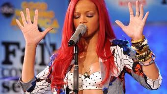 Rihanna eröffnet Show am Sonntag (Archiv)