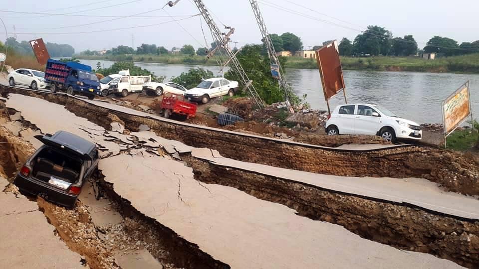 Erdbeben Pakistan (© Keystone)