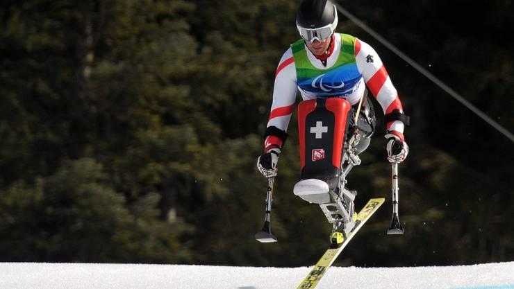Ski alpin im Sitzen