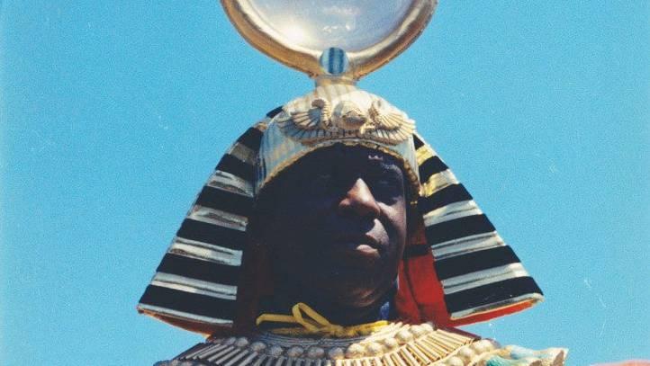 Für den schillernden Musiker und Avantgardist Sun Ra  waren die Pharaonen ein wichtiger Bezugspunkt.