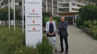 Freuen sich, dass der Betreib aktuell gut läuft. Bernadette Flükiger und Uwe Matthiessen.