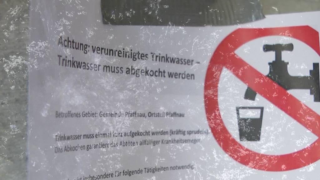 Verschmutztes Trinkwasser: Seit Tagen sitzen die Einwohner von Pfaffnau auf dem Trockenen