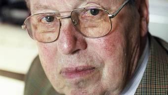 Ist nicht mehr: Arthur Bill, Gründer des Schweizer Katastrophenhilfekorps (Archiv)