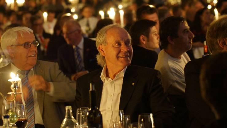 Köbi Kuhn war ein gern gesehener Gast bei der Zürcher Fussball-Gala.