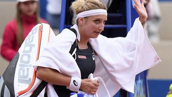 Musste sich auch in New Haven früh aus dem Turnier verabschieden: Timea Bacsinszky