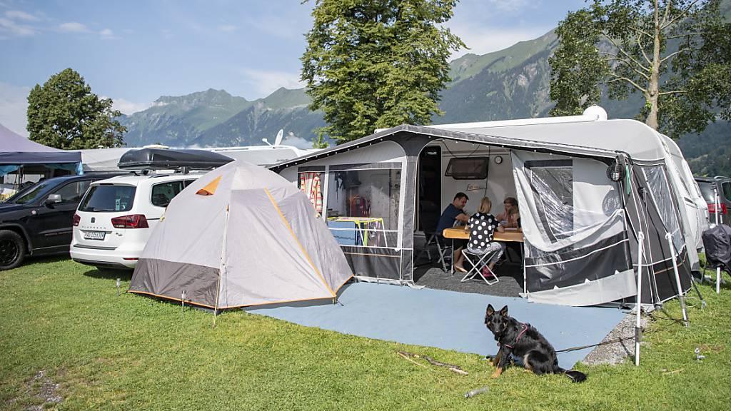 Die Campingplätze werden in diesem Jahr noch voller