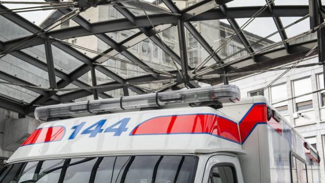 Der Eingang zur Notfallstation des Universitätsspitals Zürich.
