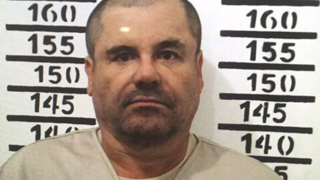 Der mexikanische Drogenboss Joaquín «El Chapo» Guzmán muss sich in New York vor Gericht verantworten. (Archiv)
