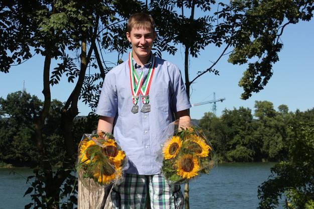 Alex Bieri wird zweimal Zweiter: Bei den Junioren und den Jungfahrern