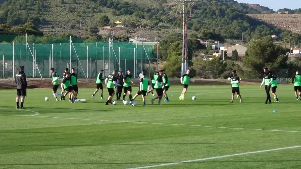 So bereitet sich der FCSG in Spanien auf die Rückrunde vor